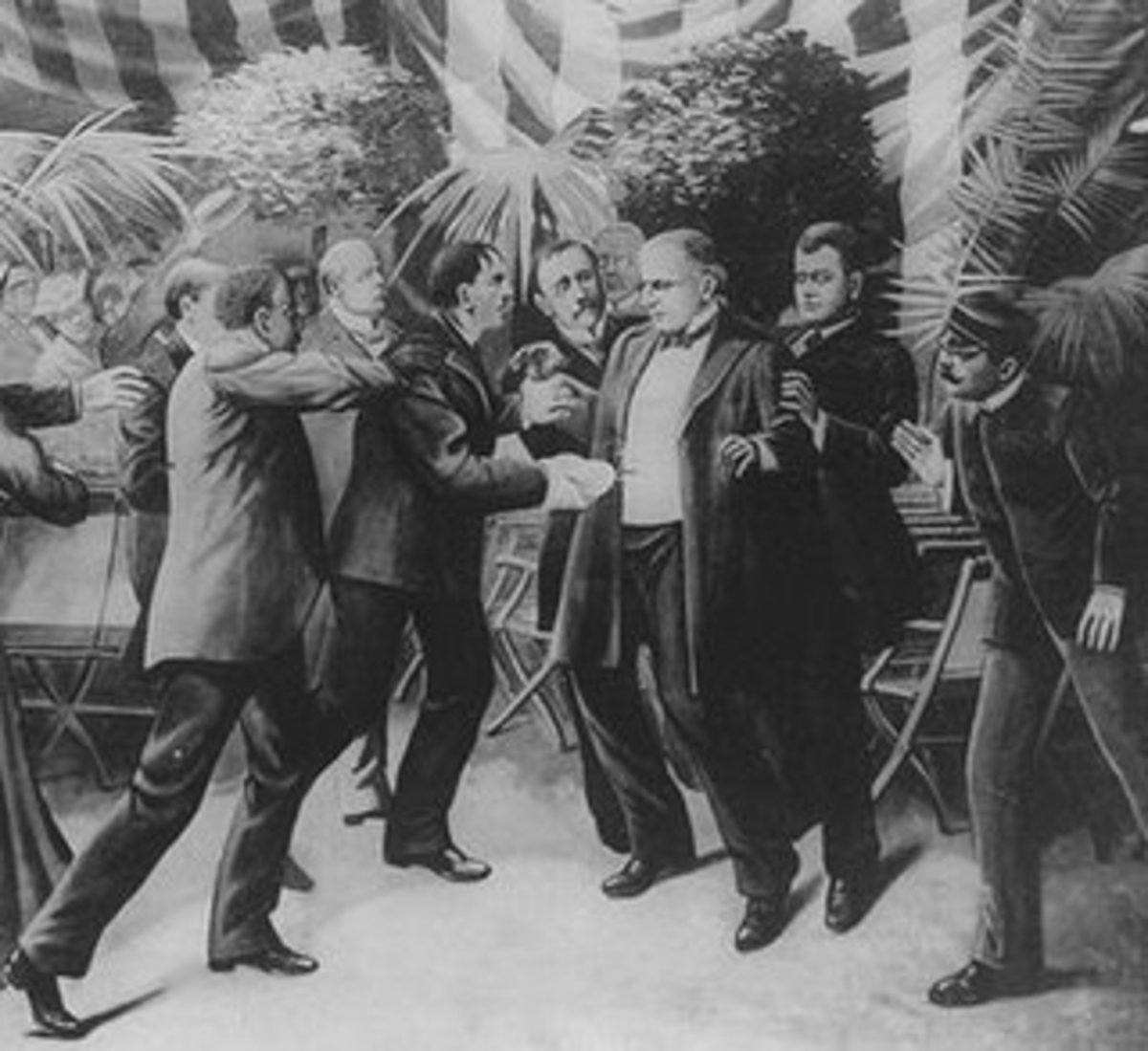Lincoln Was Running Late But Arrived In Time To See President McKinley Killed
