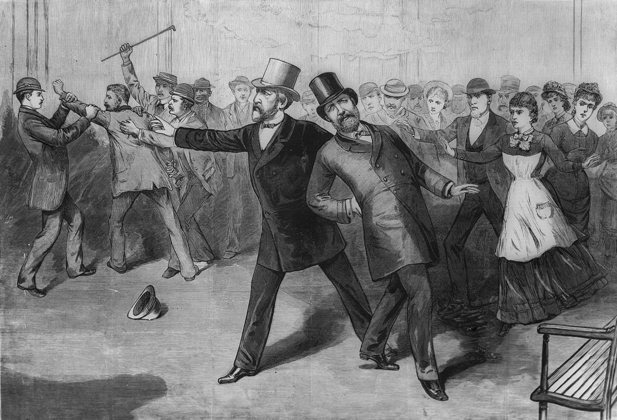 Lincoln Was Running Late To Join President Garfield And Arrived Just In Time To See Him Killed.