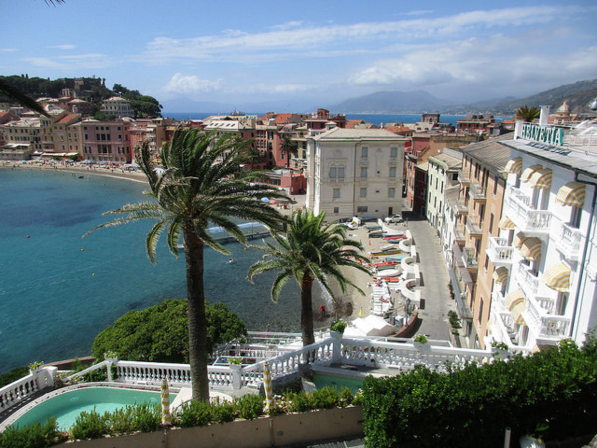 A Rough Guide to Liguria in Italy : Things to do in Sestri Levante.
