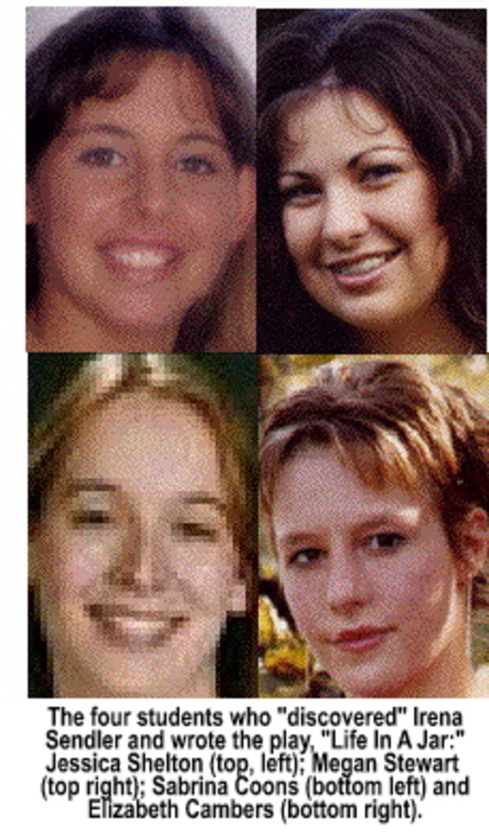 Students (top L-R) Jessica Shelton, Megan Stewart,  (Bottom L-R)Sabrina Coons, Elizabeth Cambers