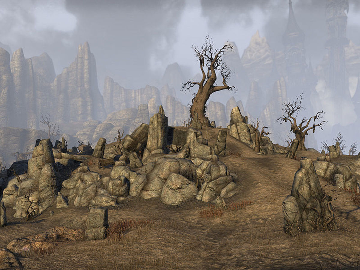 The Sanguine Barrows in Rivenspire, are an example of what a common Breton burial looks like in many places.