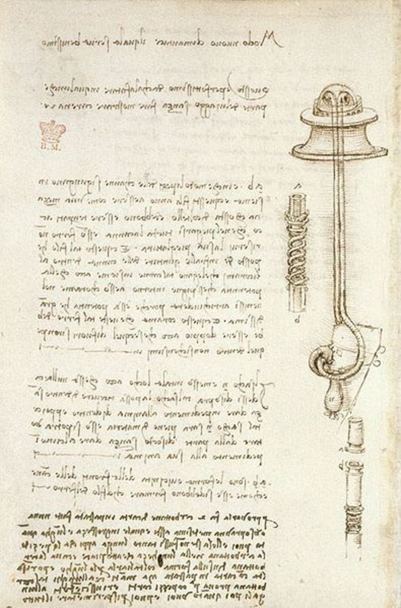 A page from the Codex Arundel