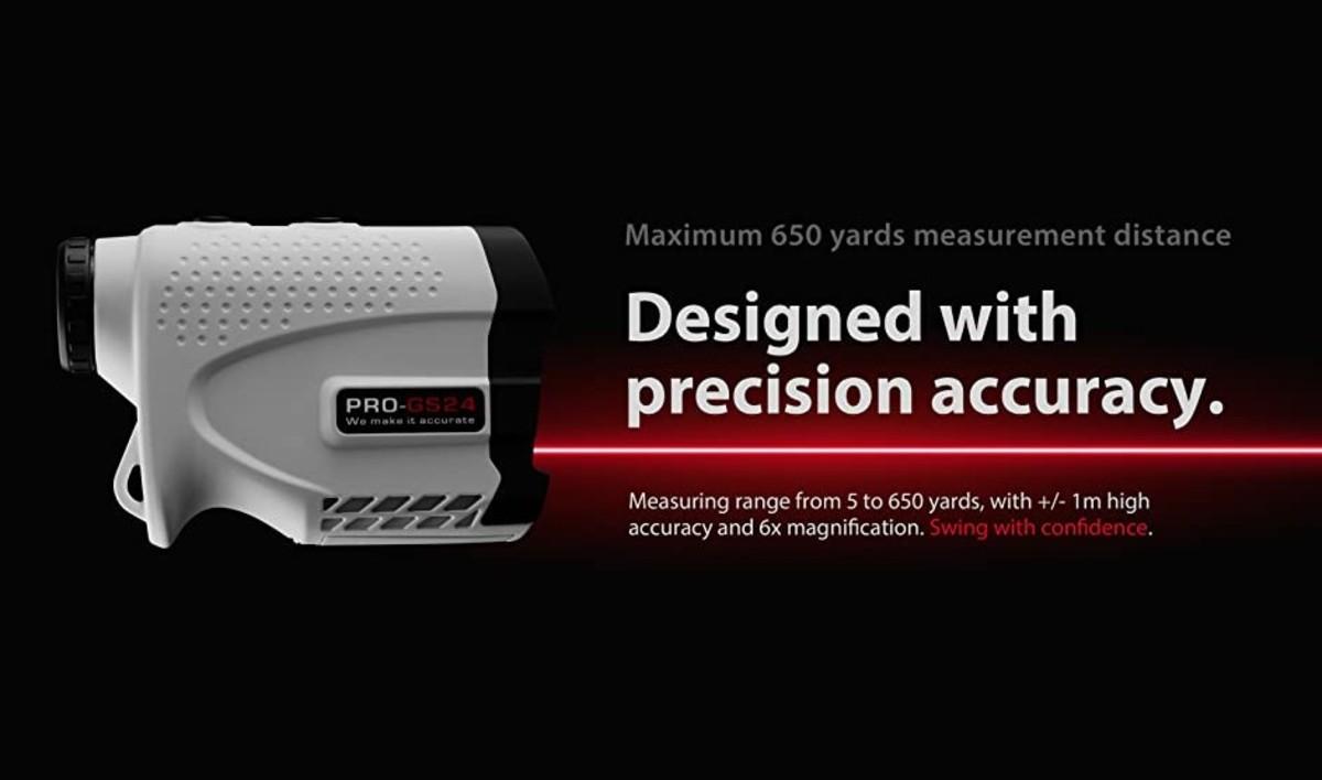 Gogogo Sport Vpro Laser Rangefinder for Golf & Hunting Range Finder