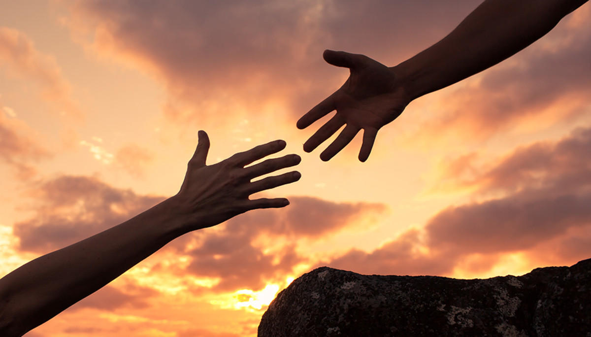 lend a helping hand to others.  It may be your turn next.
