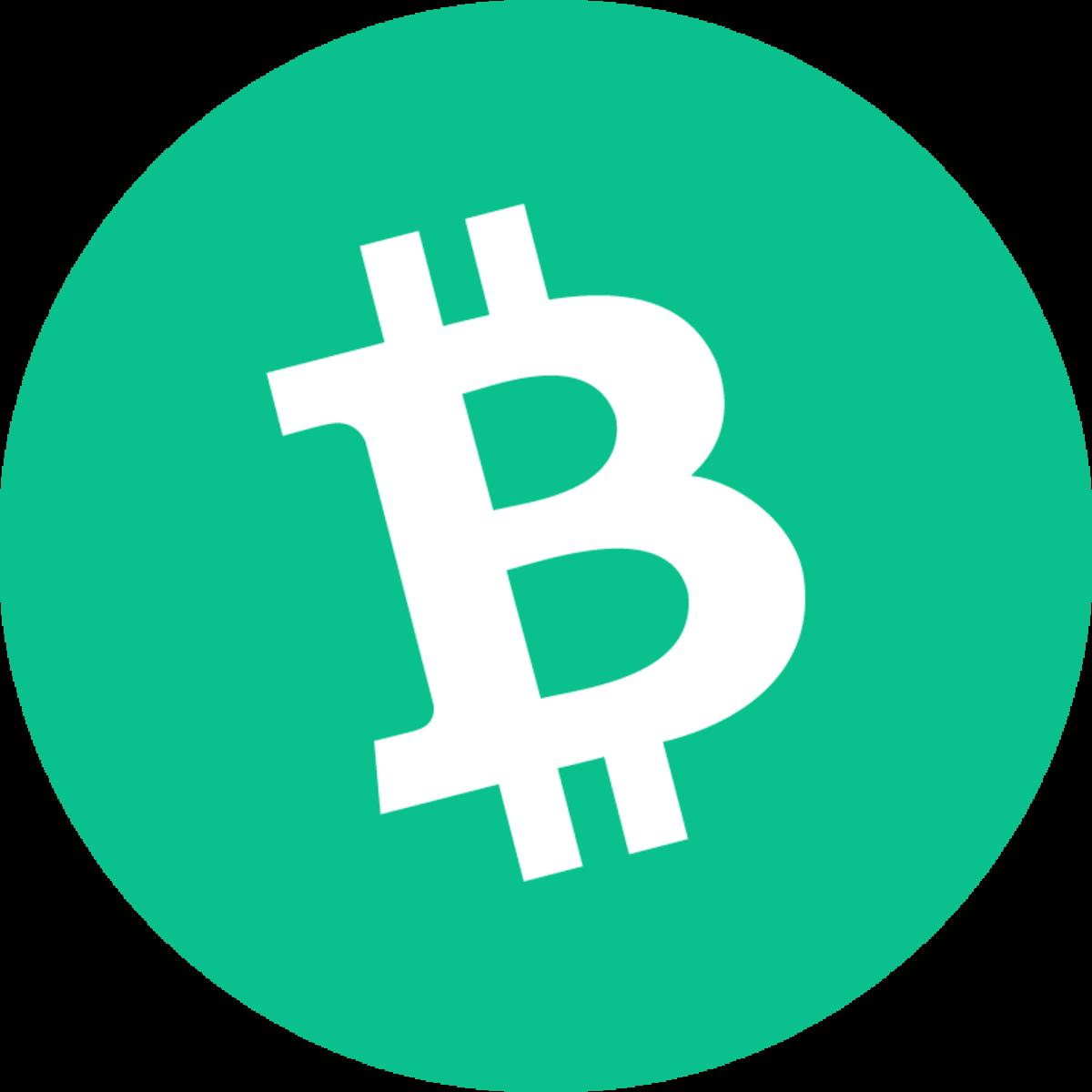 The Bitcoin Cash logo