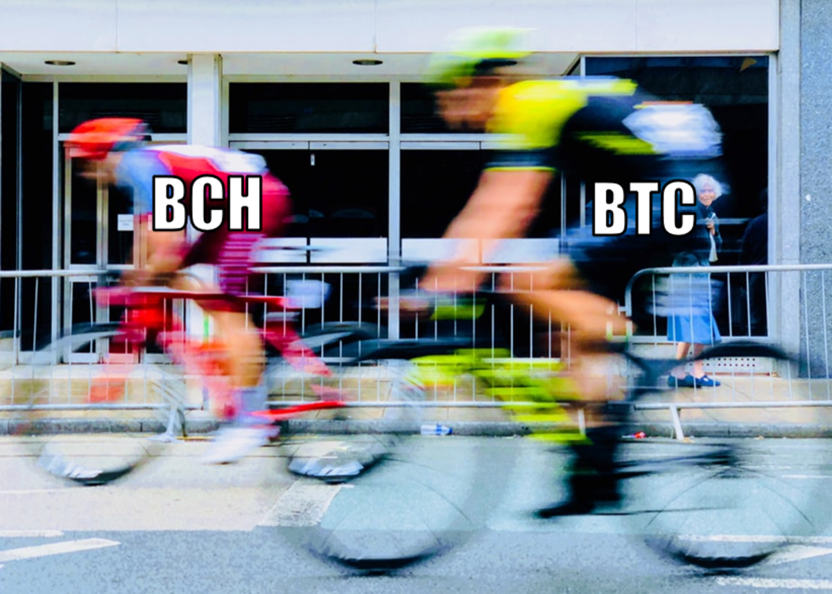 Bitcoin Cash is much faster than Bitcoin.
