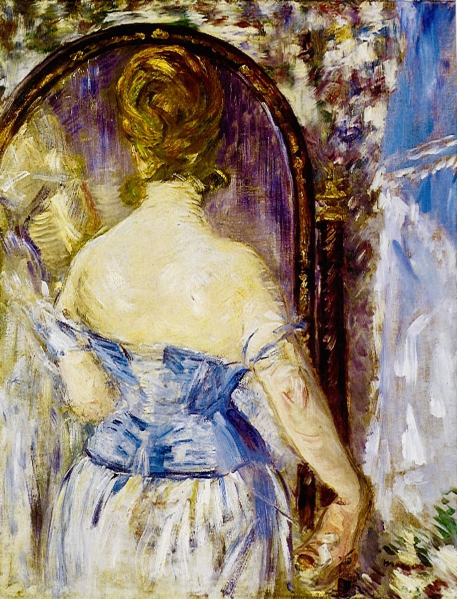 Manet's Before The Mirror