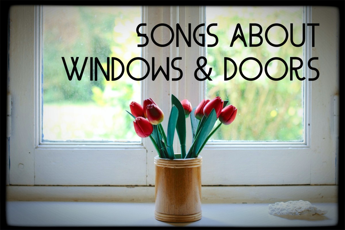 Celebrate the many meanings of open and closed windows and doors in life with a playlist of pop, rock, and country songs.