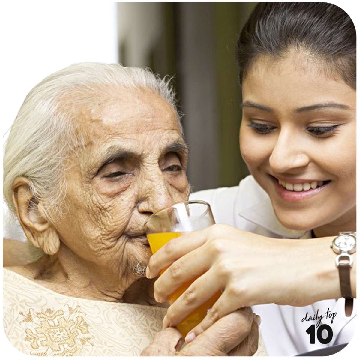 You should lead by example in respecting and taking care of the elderly.