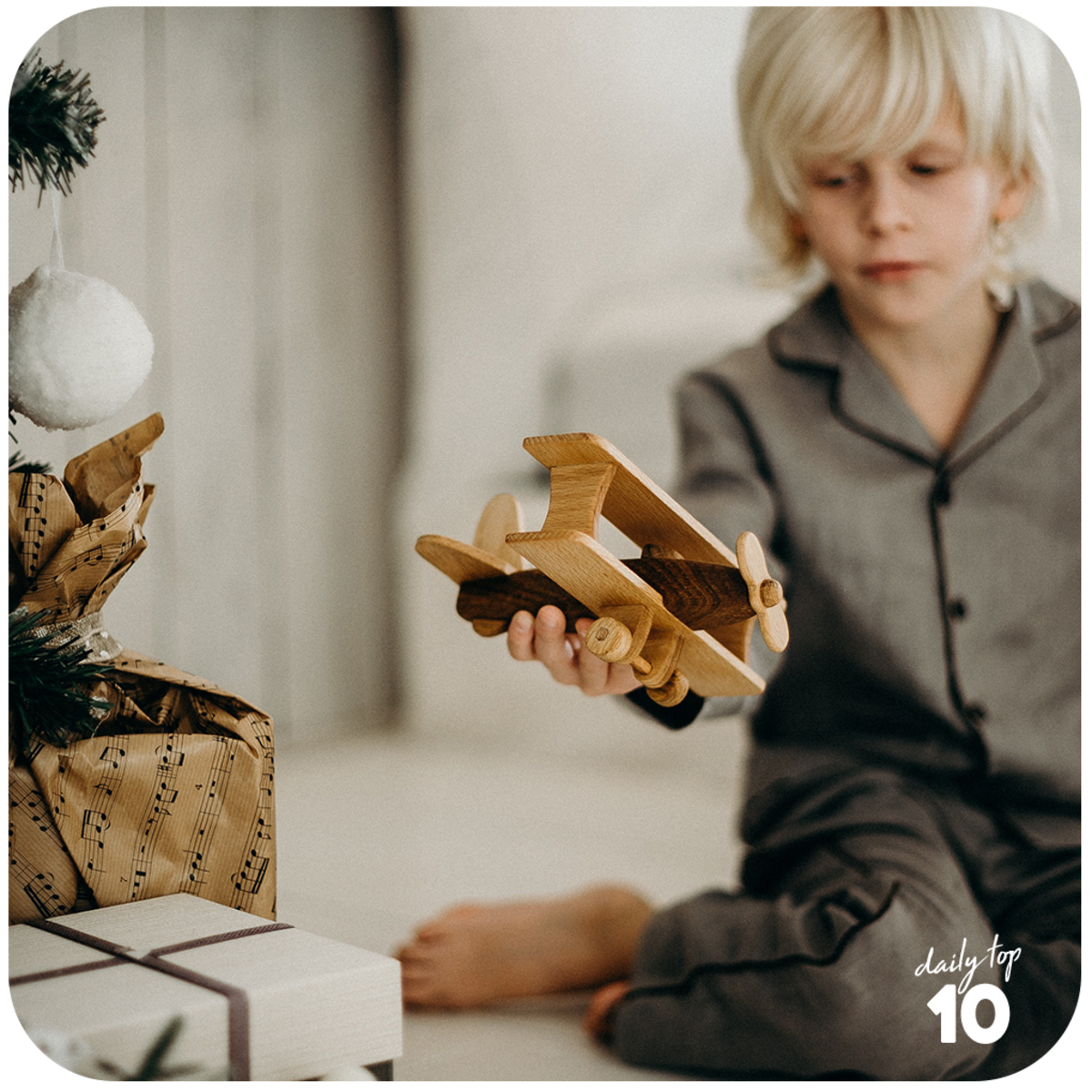 Christmas is the best holiday to teach your kid that giving is better than receiving.