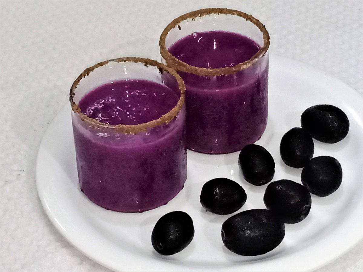 Jamun shots are refreshing and healthy