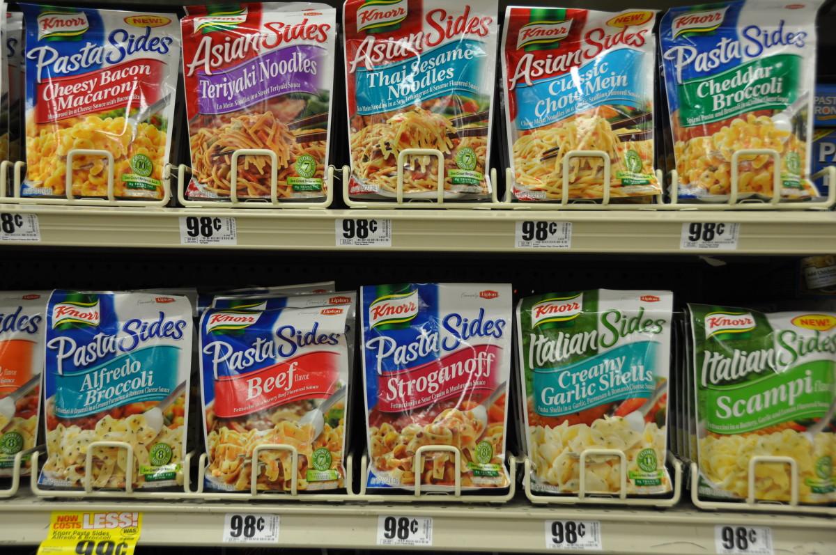 Lipton Noodle Options