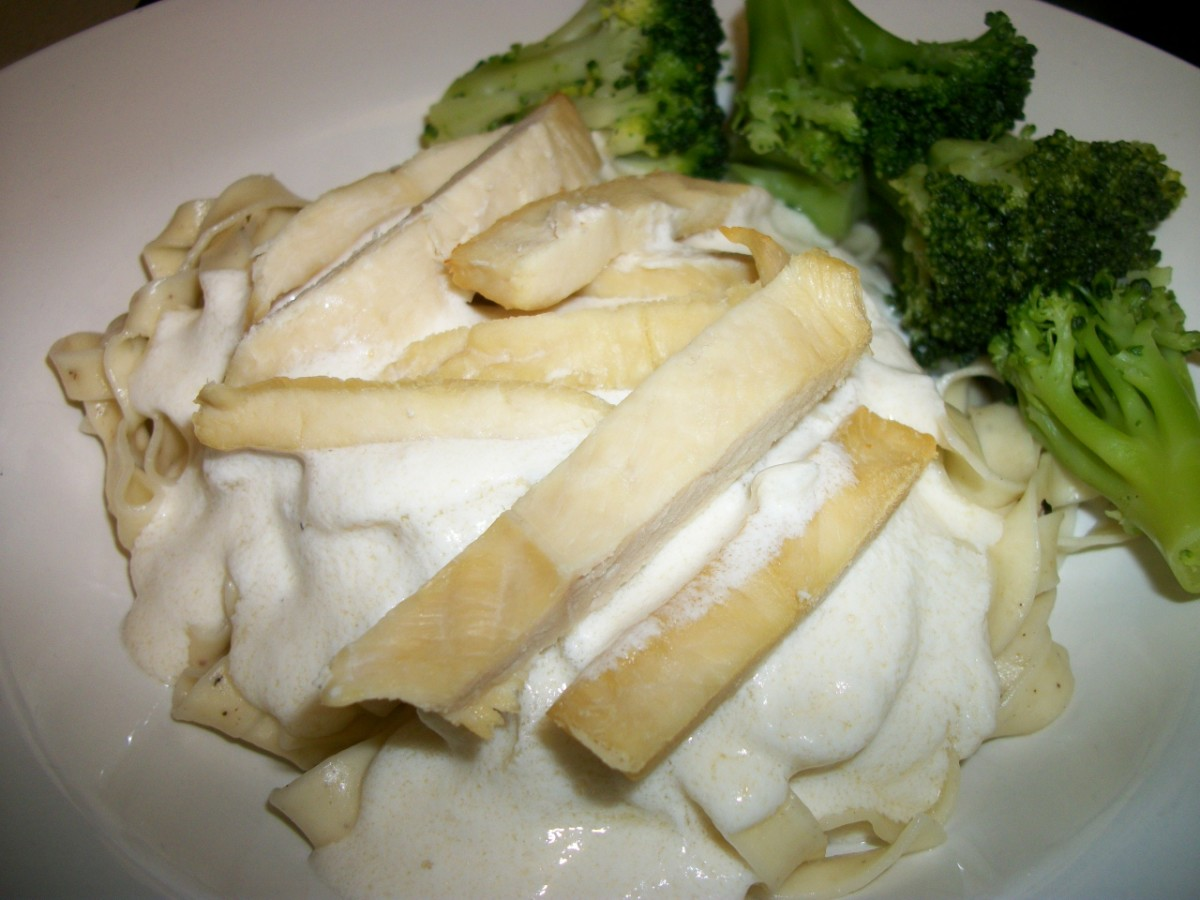 Chicken and Broccoli Fettuccini