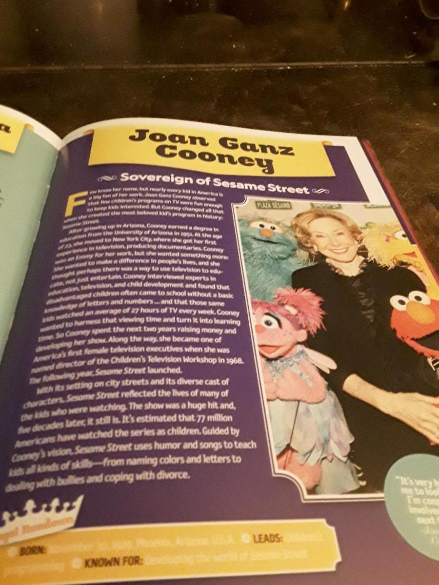A modern queen of Sesame  Street-queens can rule over tv subjects