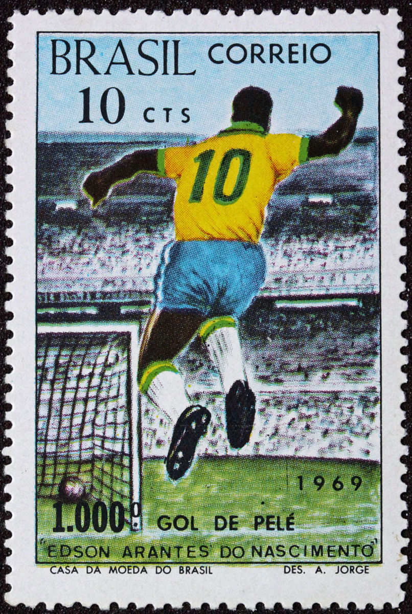 1969 Brazil Stamp