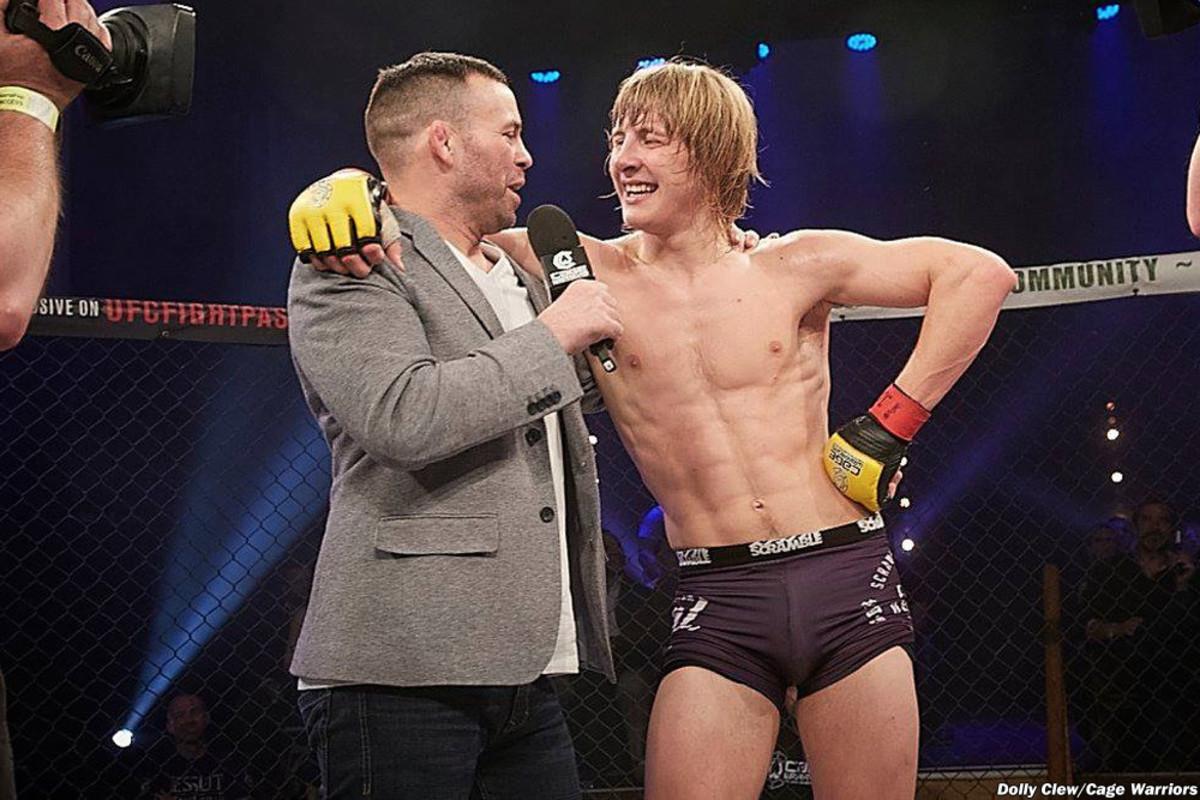 Paddy Pimblett at Cage Warrior 78