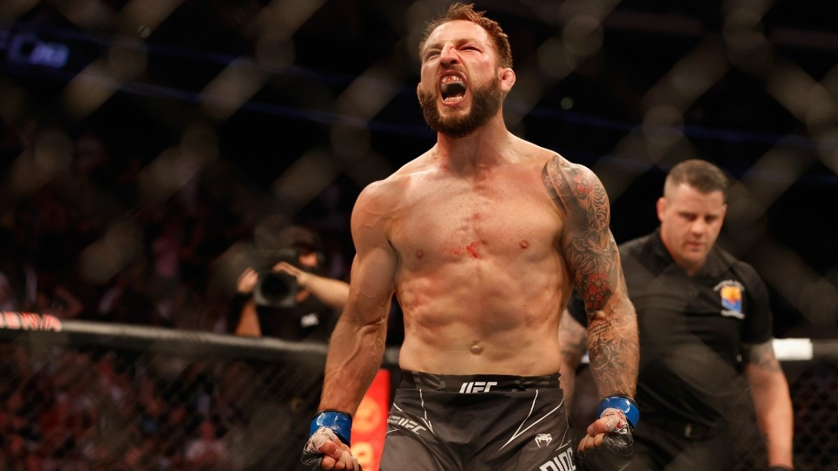 Brad Ridell's victory over Drew Dober at UFC 263