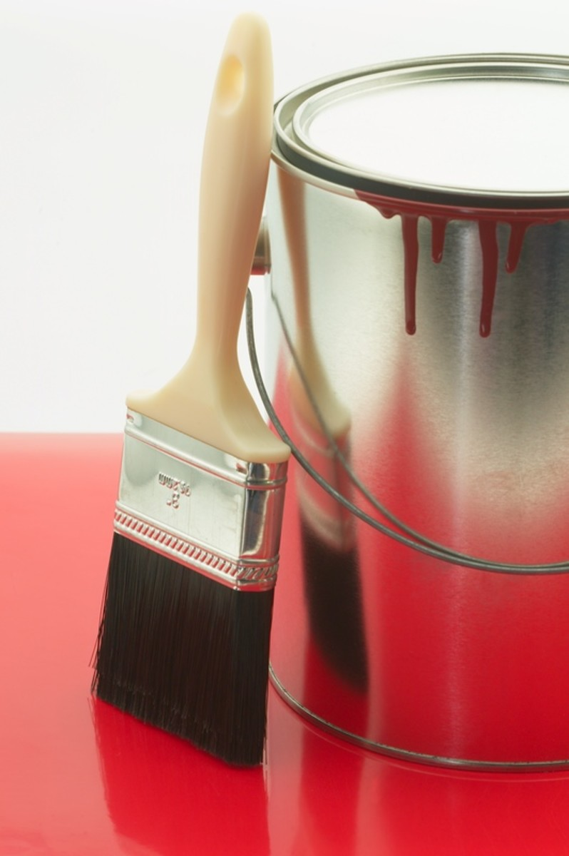 A fresh coat of paint is the easiest way to brighten your home and prepare it to be sold.