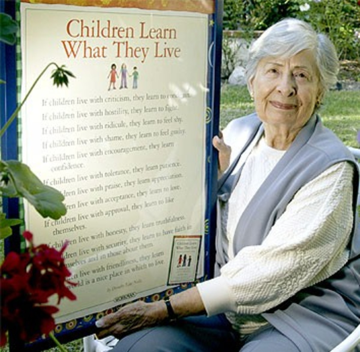 Children Learn What They Live - Famous Poem by Dorothy Law Nolte