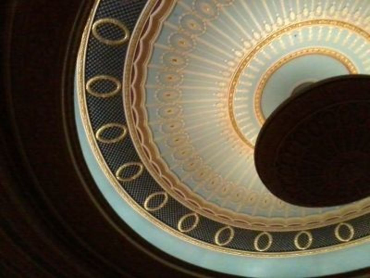 Inside The Lerner Theater - Ceiling Detail