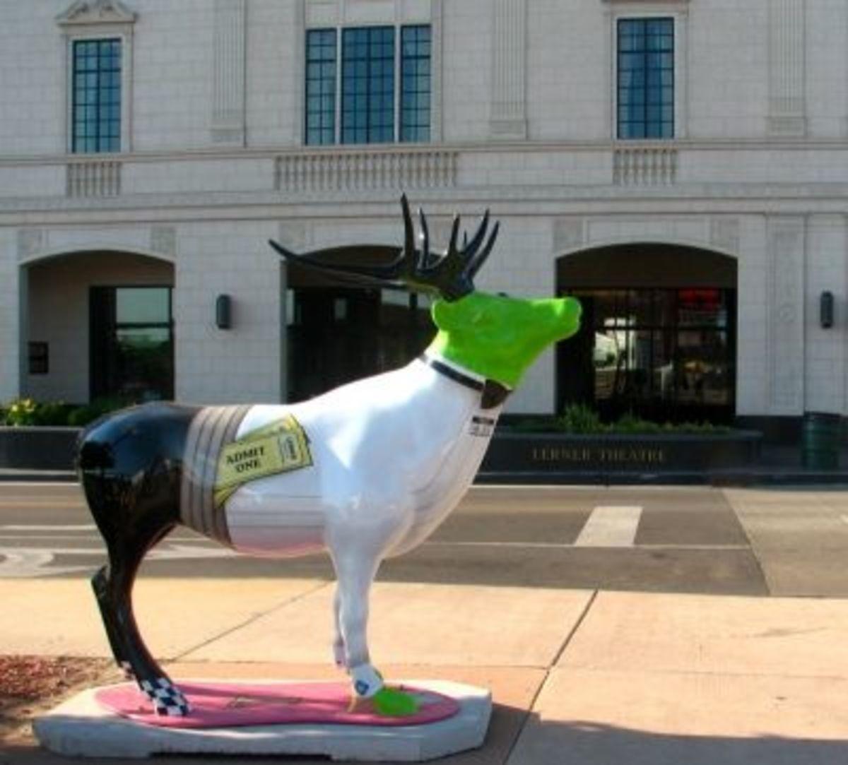 Mr. Elk Goes To The Lerner