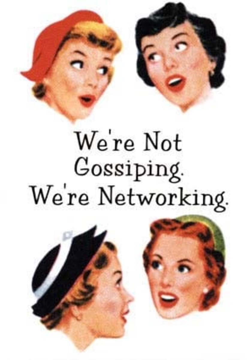What do we do with a destructive gossip?