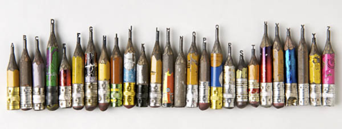 Dalton Ghetti's pencil art