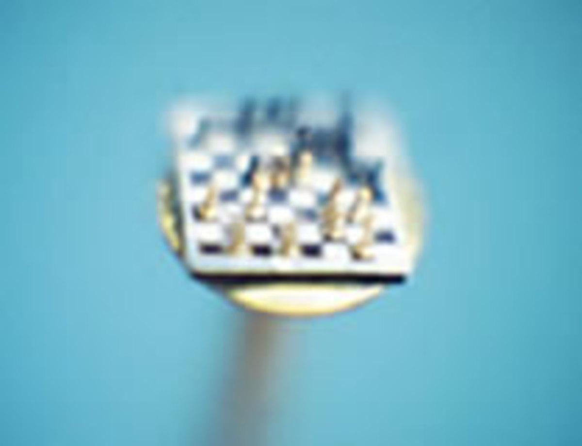 tiny chess set