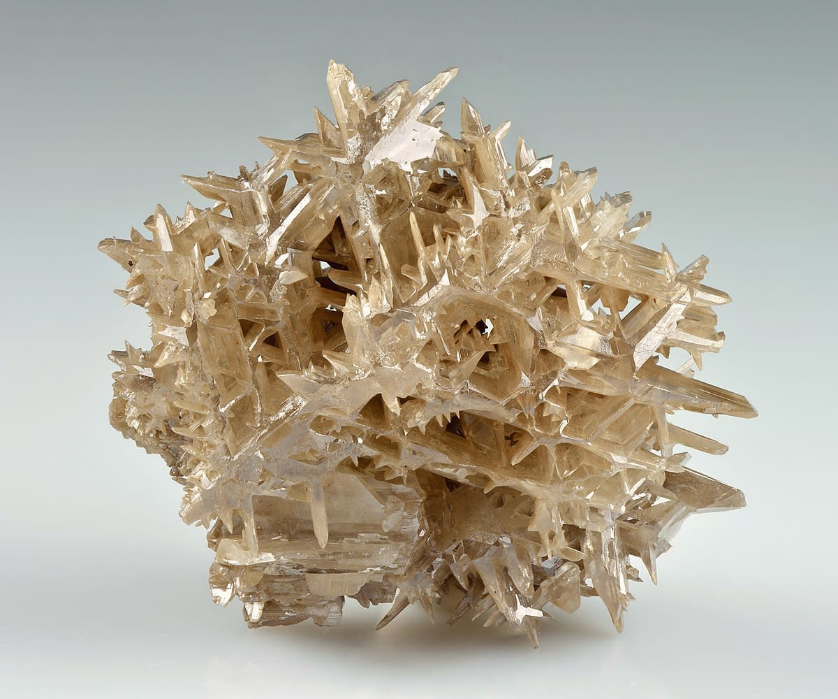 Cerussite is a beautiful crystal with a unique star pattern formation, making it commonly associated with the otherworldly realms. Meditating with this stone could help you see the higher purpose in everything of this universe, or so it is claimed.