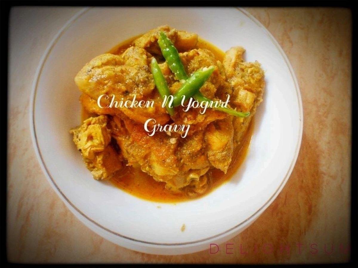 Chicken N Yogurt Curry