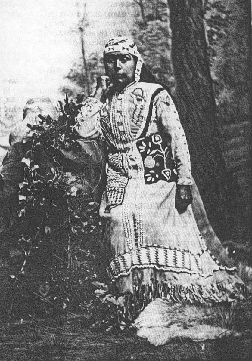 Southern Oregon Native American woman