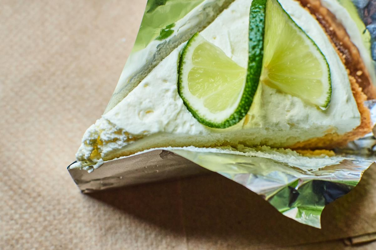 Key lime pie is the perfect finish to a seafood meal