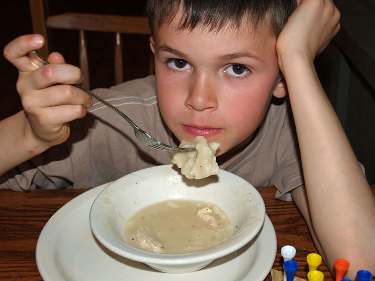 Chicken and dumplings can't be beat.