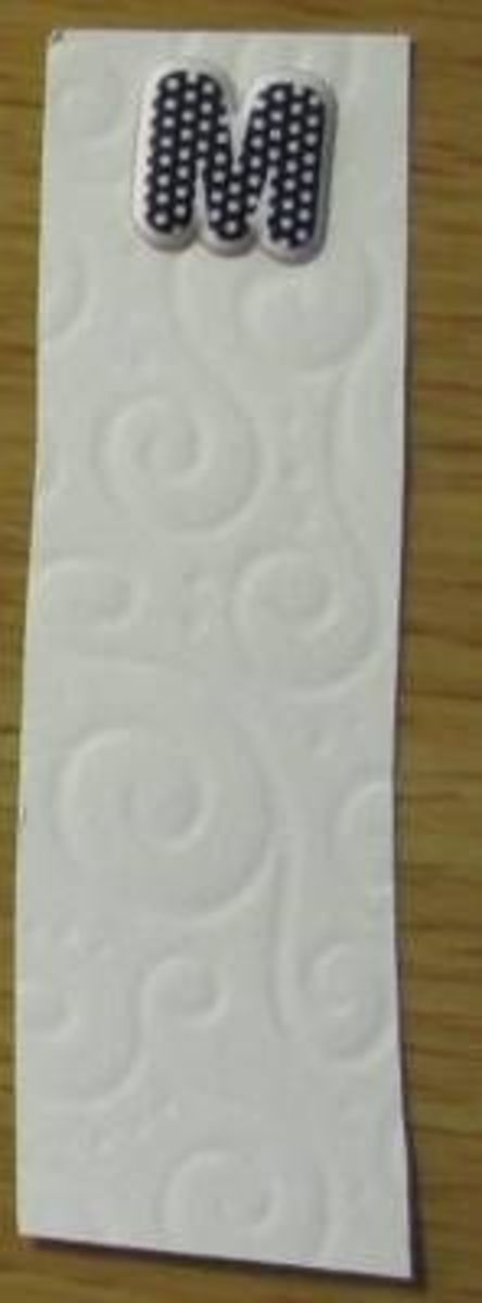 making a bookmark