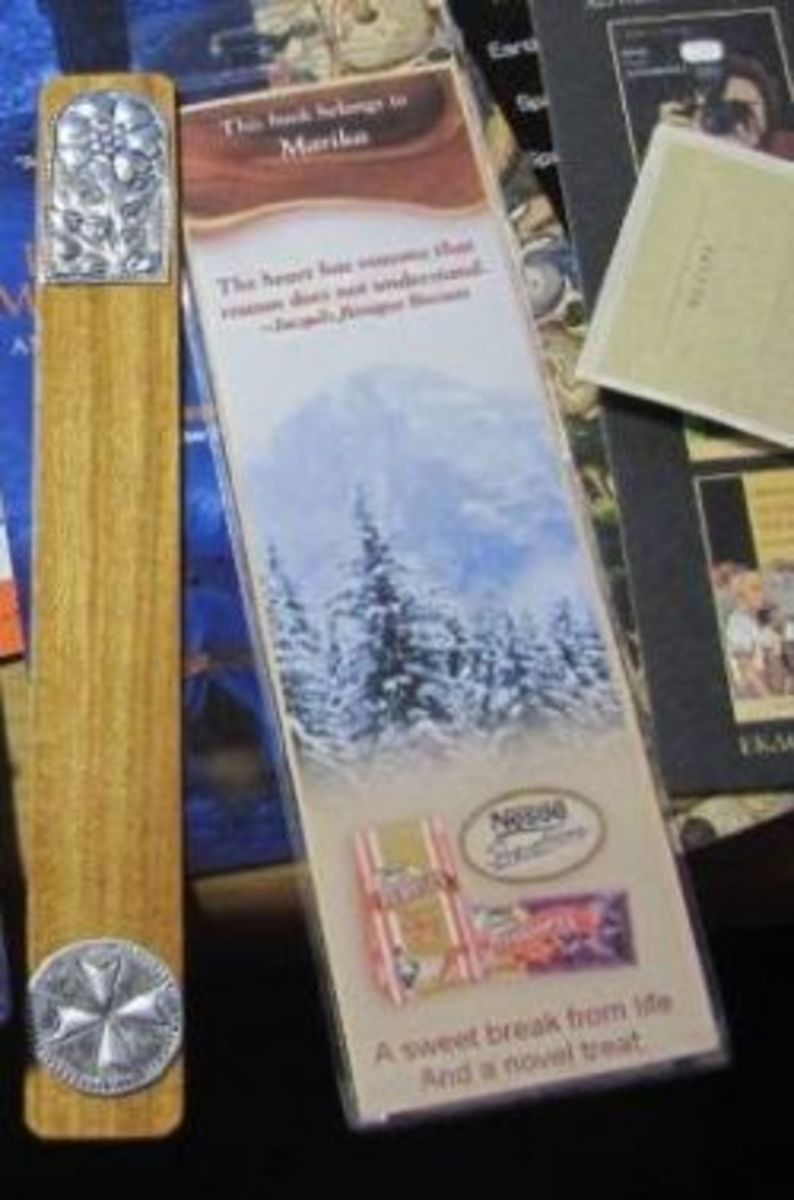 A few of my handmade bookmarks