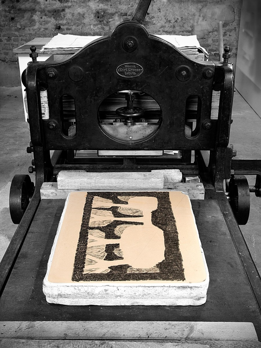 Lithography Printing Press