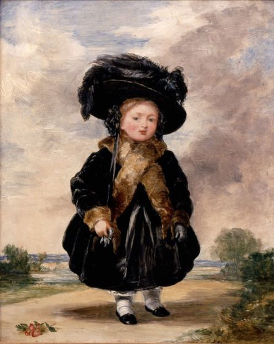 Princess Victoria aged Four, by Stephen Poyntz Denning.