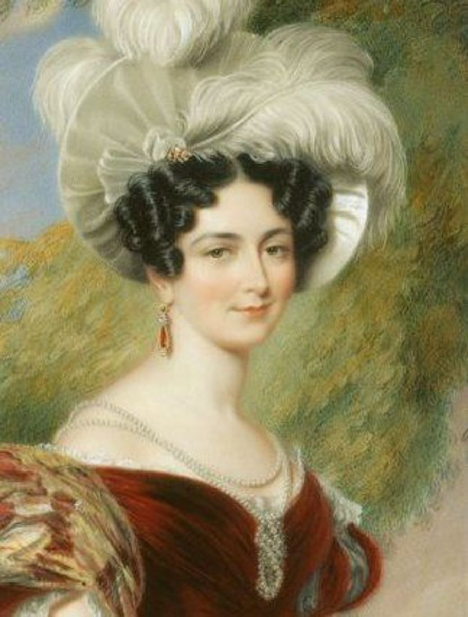 Victoire of Saxe Coburg Saalfeld, wife of Edward and mother of the future Queen Victoria.