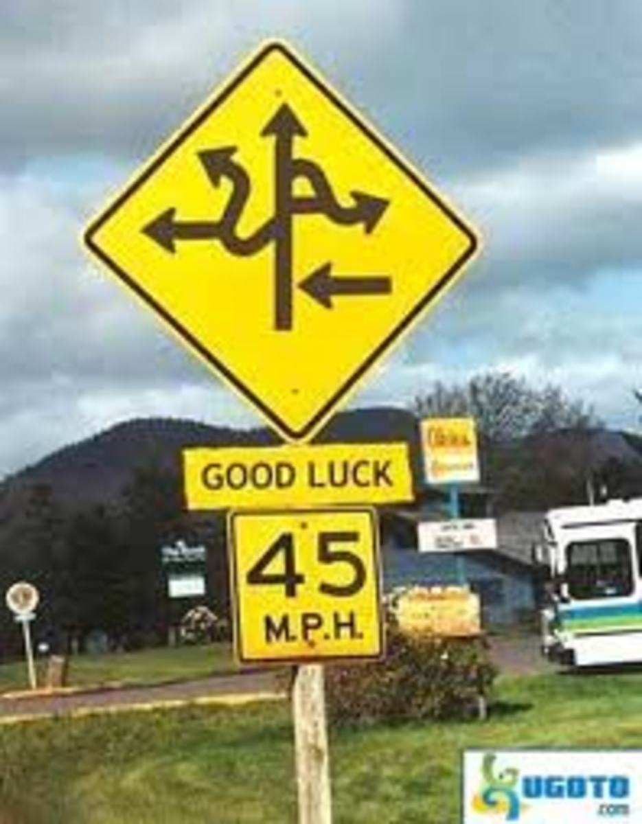 Funny Traffic Signs from Around The World
