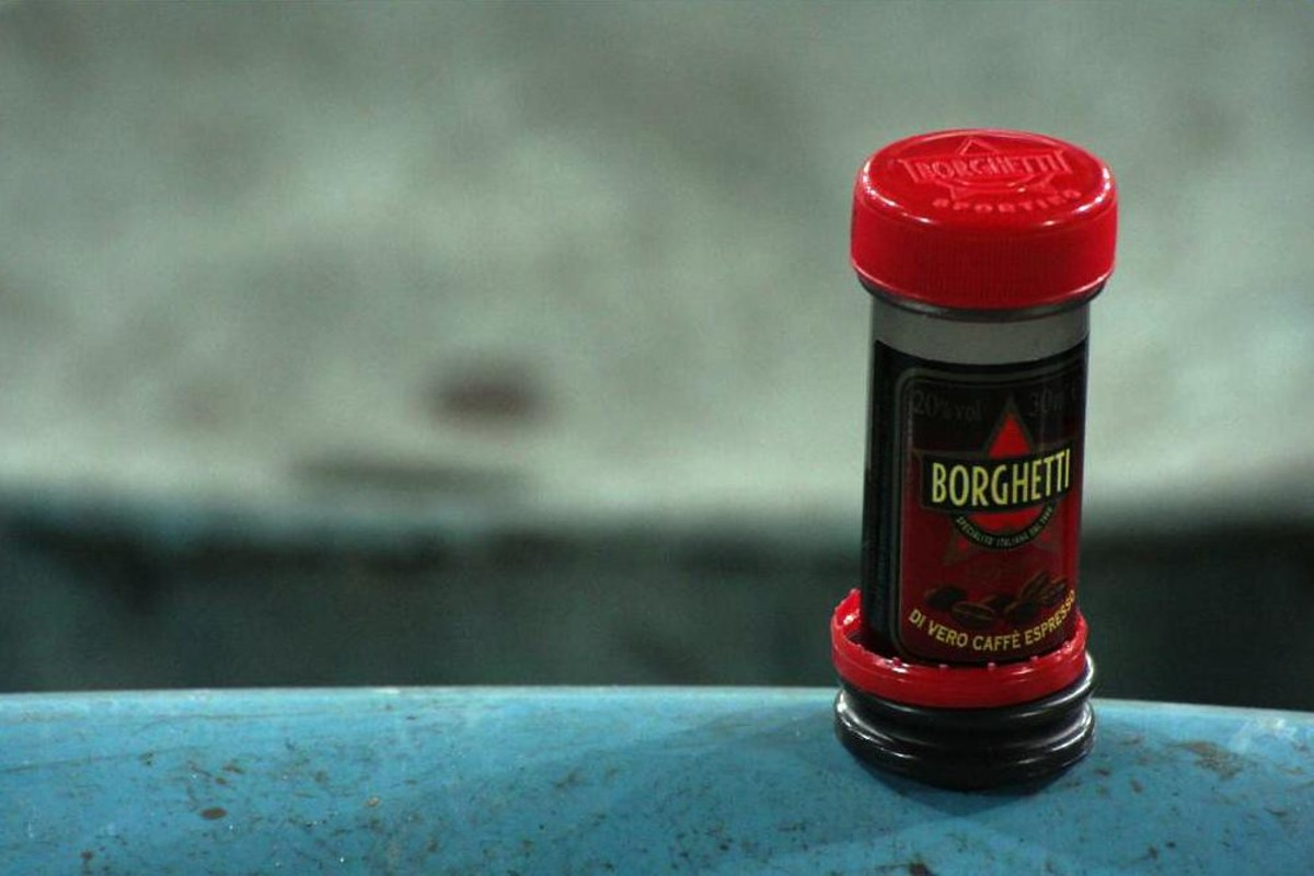"""A shot-sized serving of Borghetti before the start of a football game is a timeless tradition for many """"tifosi"""" (soccer fans). You'll soon see why!"""