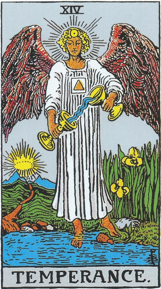 Temperance is about finding balance. Moderation is key to living a fulfilled life. Those who are calm and patient will make it through life's challenges.