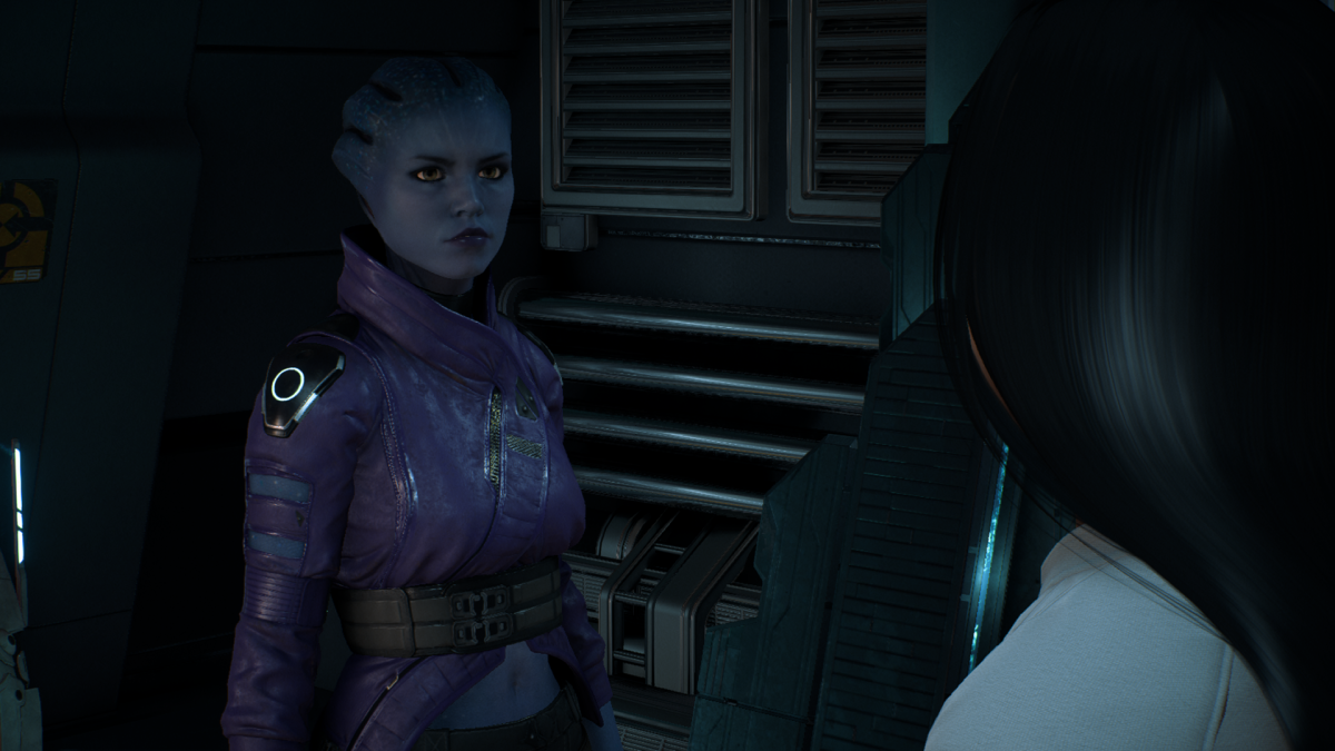 Peebee and my Ryder chat.