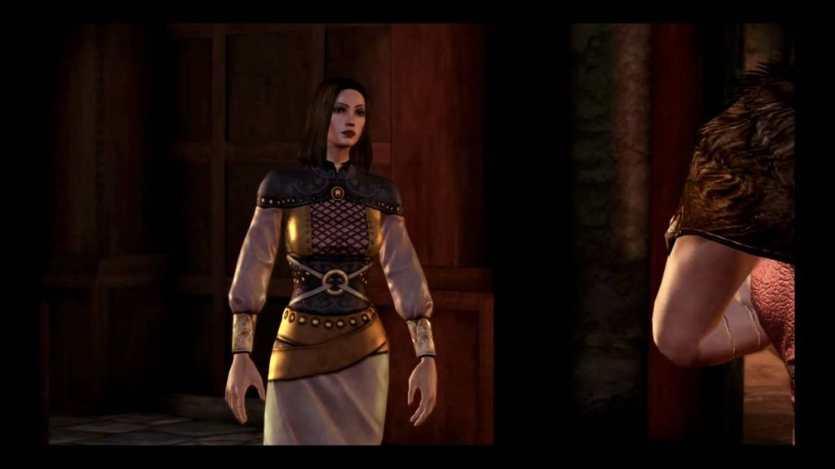 Marjolaine is confronted by Leliana.