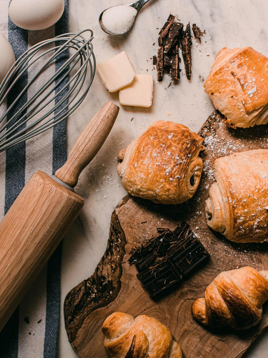 Scrumptious pain au chocolat is definitely my go-to breakfast or snack! The labor is worth it.