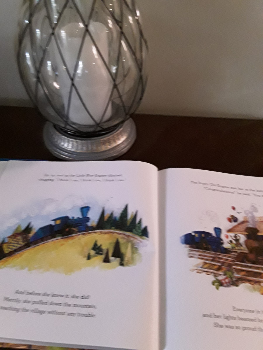 Little Blue Train's journey