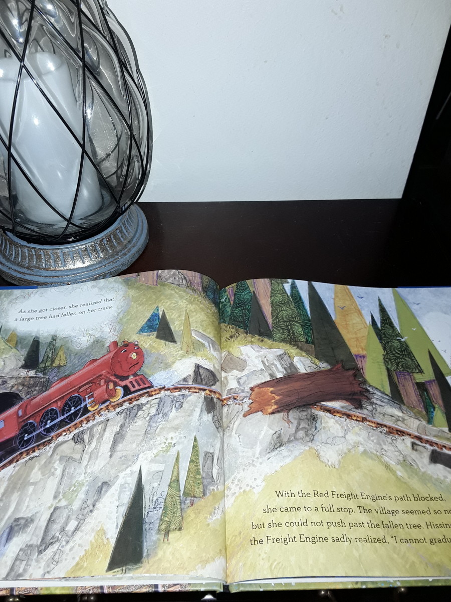 Little Red Engine encounters a huge problem on her journey over the mountain