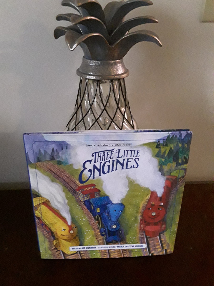 Three Little Engines Teach a Life Lesson in a Re-Tell of the Classic the Little Engine That Could