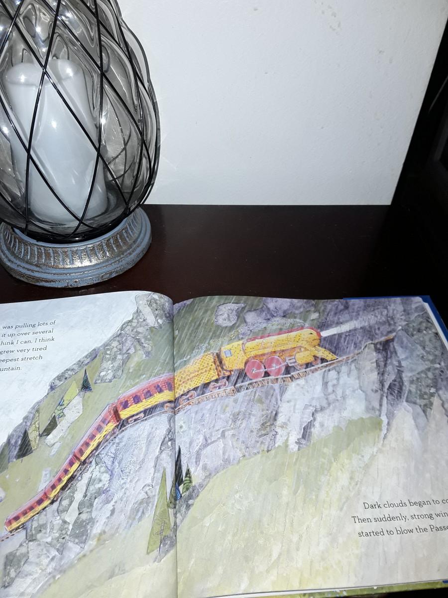 Little Yellow Engine's journey
