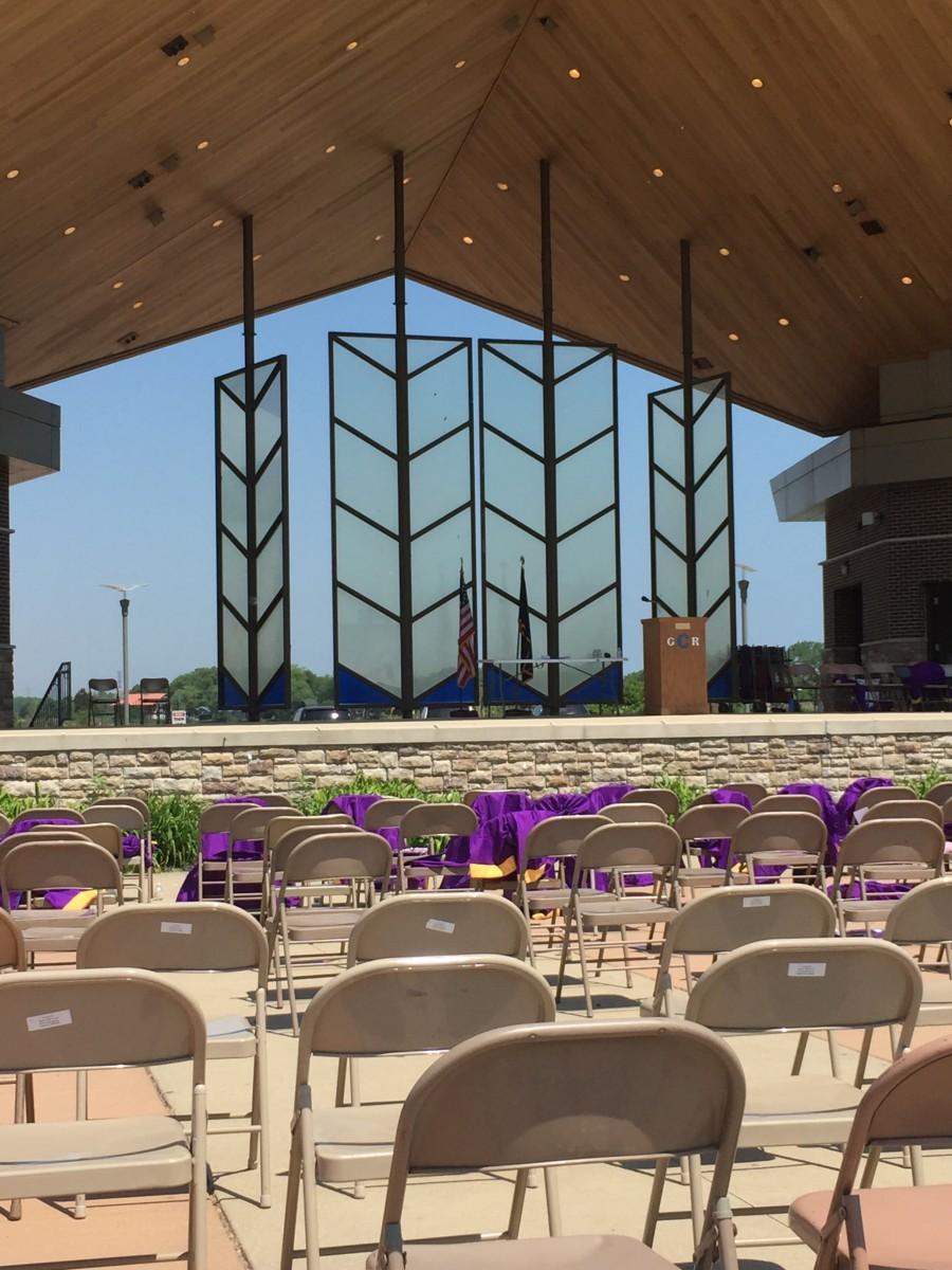 Wolf Lake Pavilion (Hammond/Whiting), the site of the final Gavit High School graduation