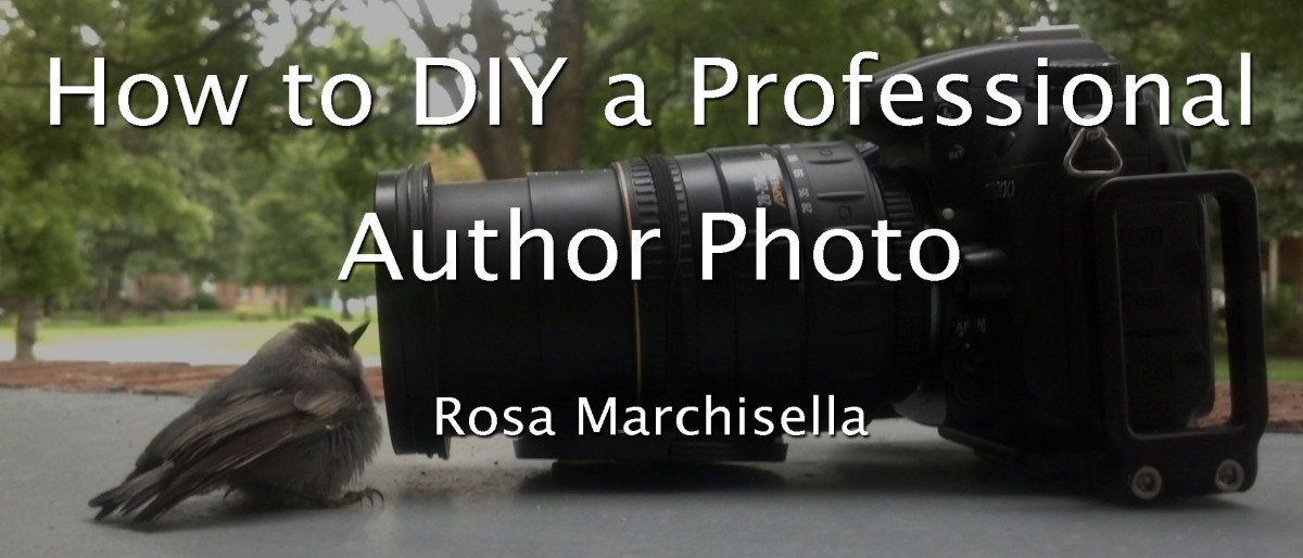 How to DIY a Professional Author Photo